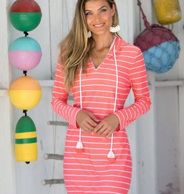 Cabana Life Hooded Cover Up Spring Regatta