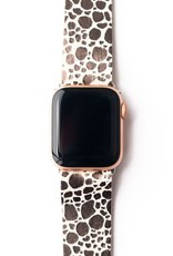 Keva Style Pebbles in Silver Watch Band