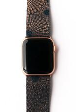Keva Style Starburst Blue and Bronze Watch Band