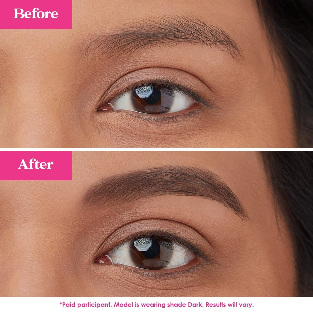 Grande Cosmetics GrandeBROW-FILL Volumizing Brow Gel with Fibers & Peptides Dark