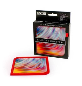 Modgy Silicone Coasters Set of 4 Rize