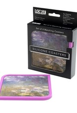 Modgy Silicone Coasters Set of 4 Water Lilies