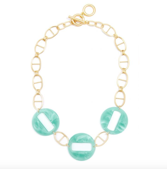 Jewelry Mariner Necklace w/ Resin Links