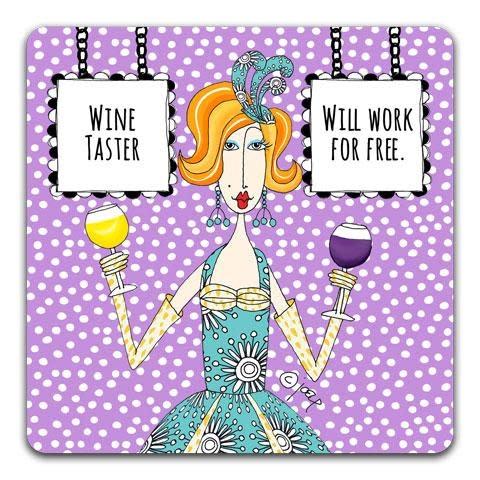 Wine Taster Coaster