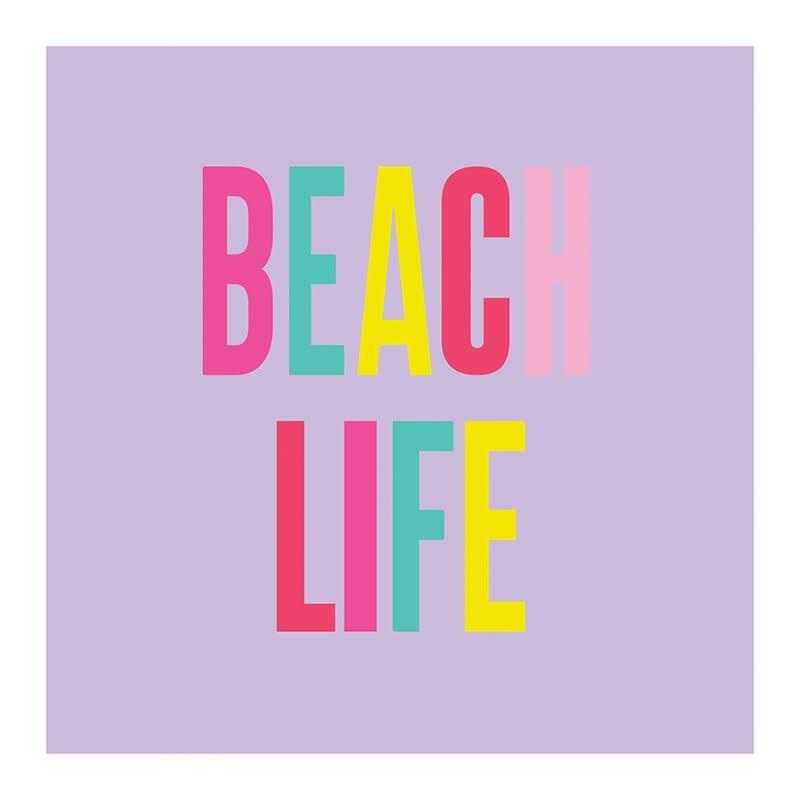 Slant Beach Life Napkins 20 CT