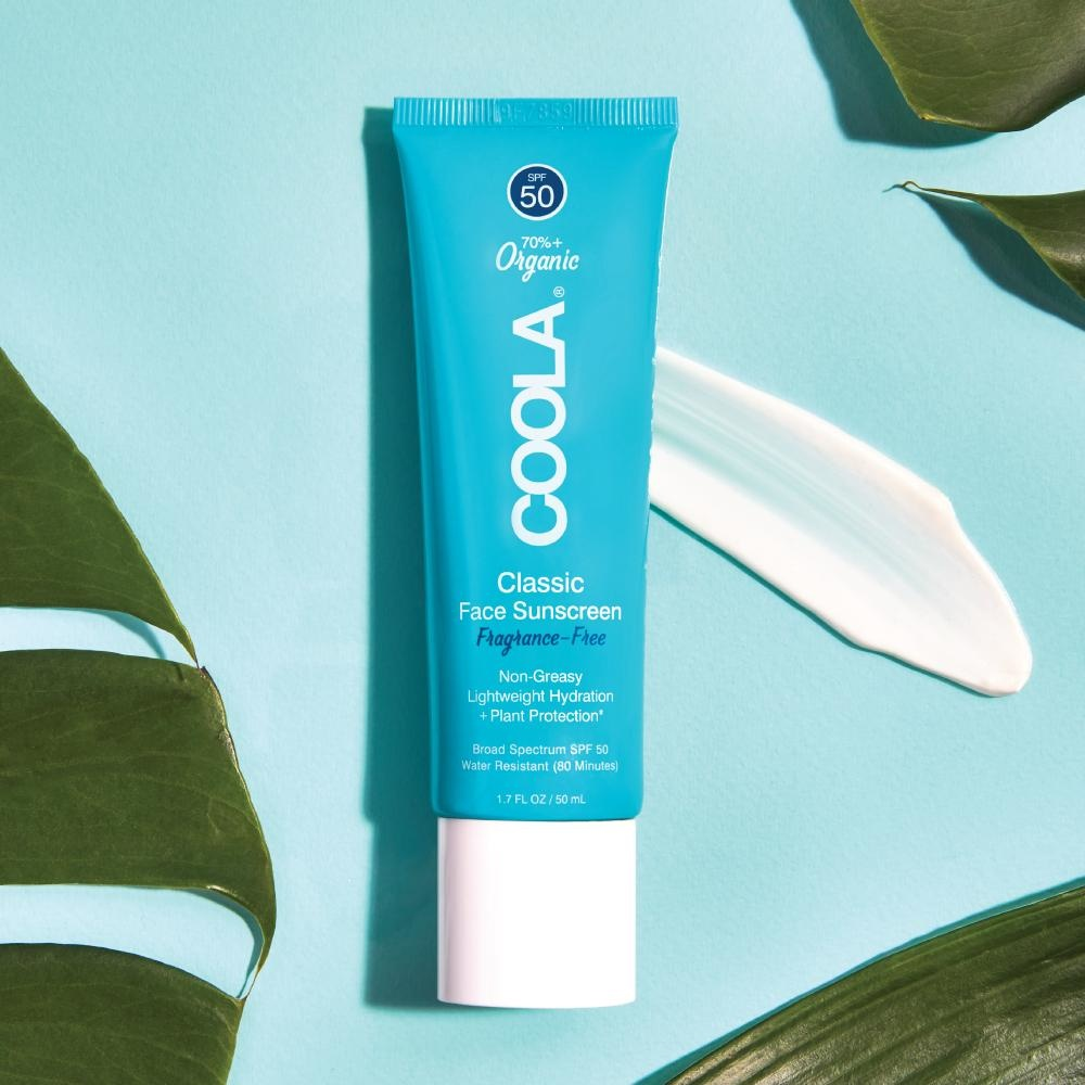 Coola Classic Face Sunscreen Lotion SPF 50 - Fragrance Free