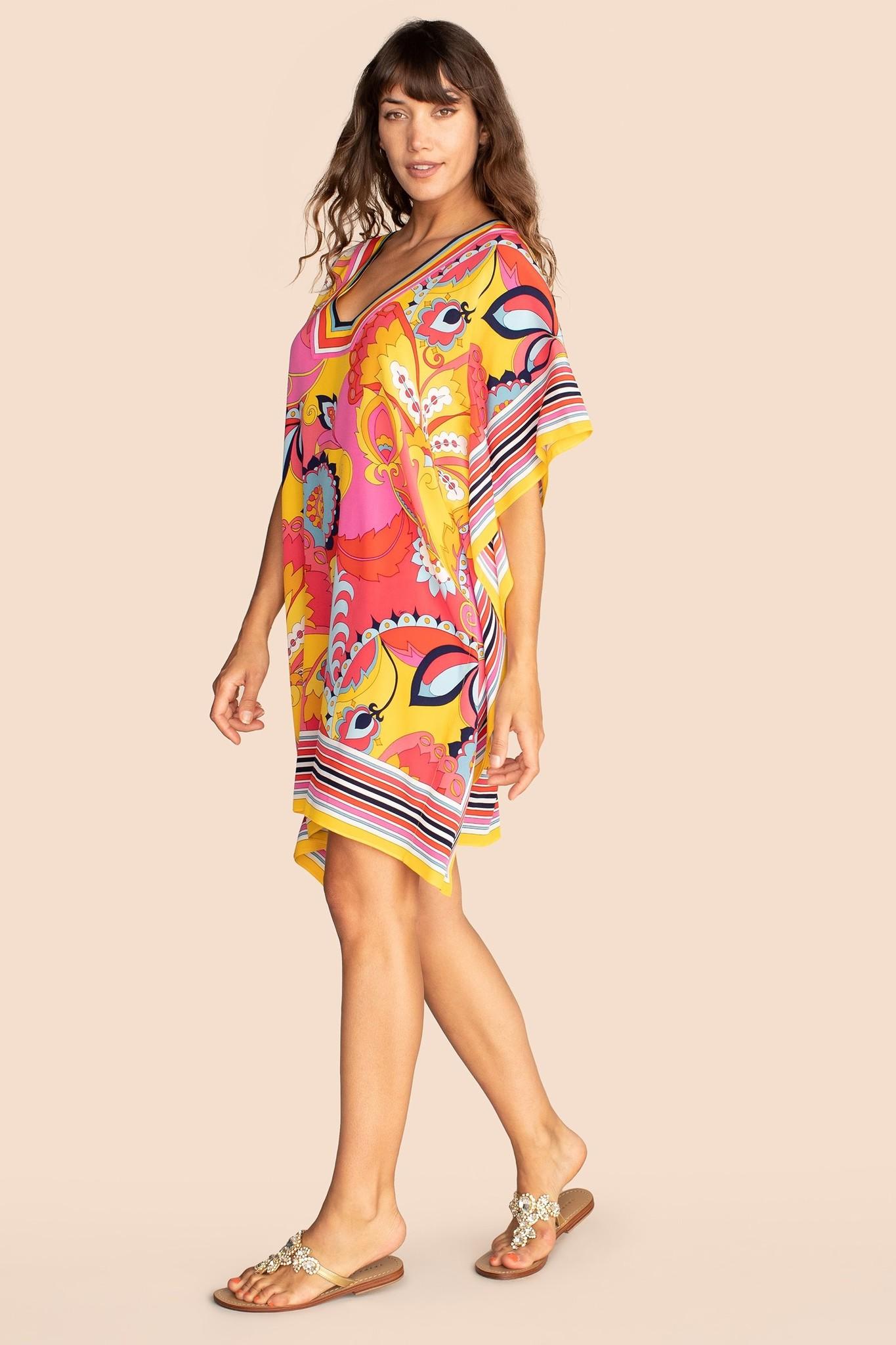 Trina Turk Theodora Dress Paradise Paisley