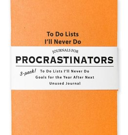 Whiskey River Journals for Procrastinators