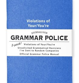 Whiskey River Journals for Grammar Police