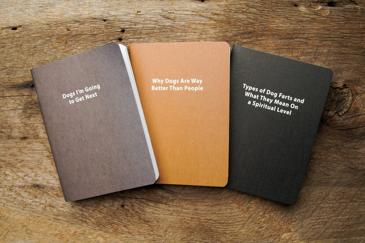 Whiskey River Journals for Dog People