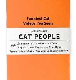 Whiskey River Journals for Cat People