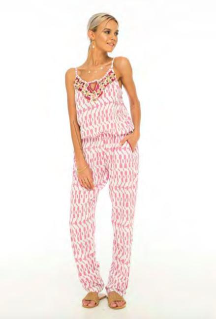 Skemo Antigua Jumpsuit Pink