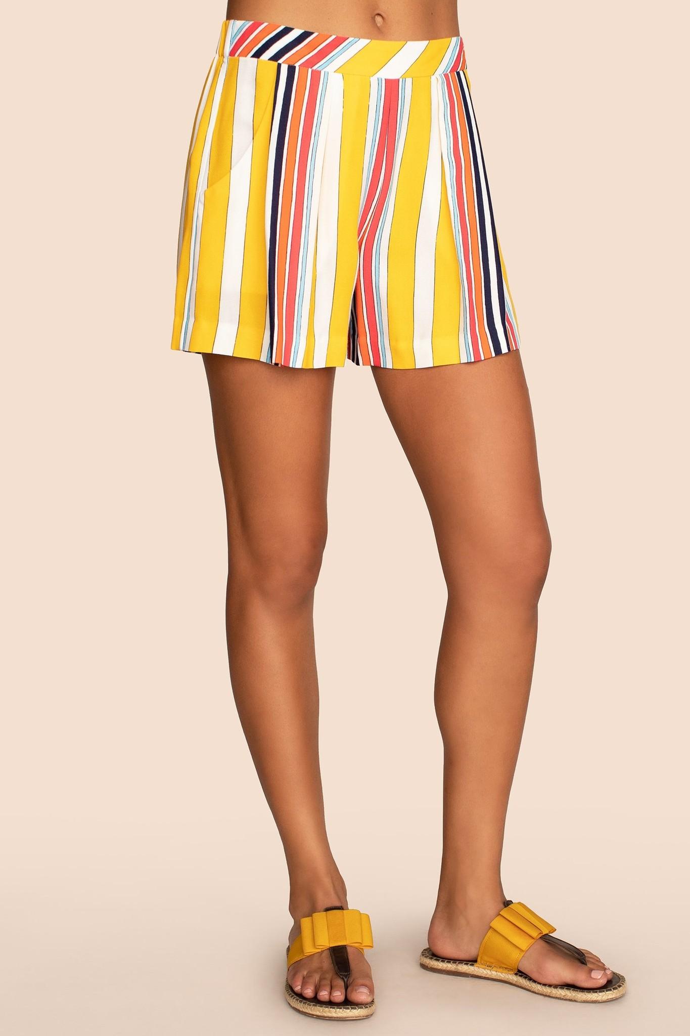 Trina Turk Subtle Short Surf Stripe