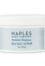 Naples Soap Co. Summer Gingham Sea Salt Scrub 3 oz