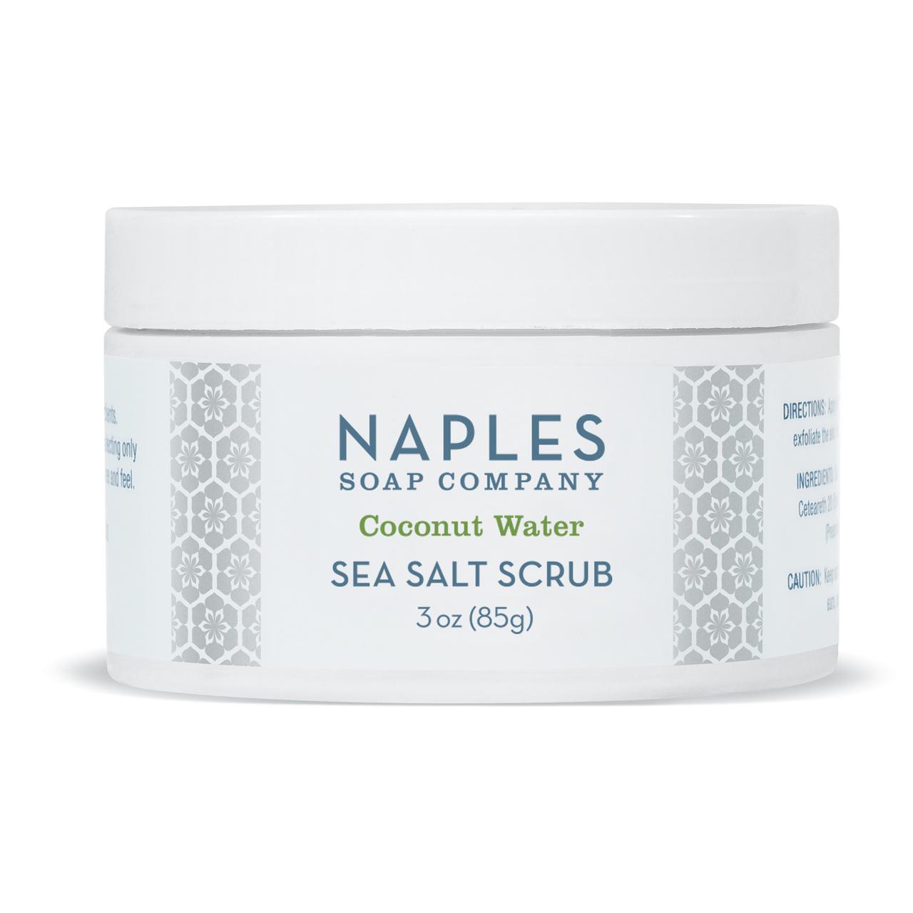 Naples Soap Co. Coconut Water Sea Salt Scrub 3 oz
