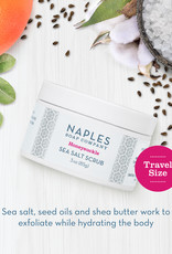 Naples Soap Co. Honeysuckle Sea Salt Scrub 3 oz