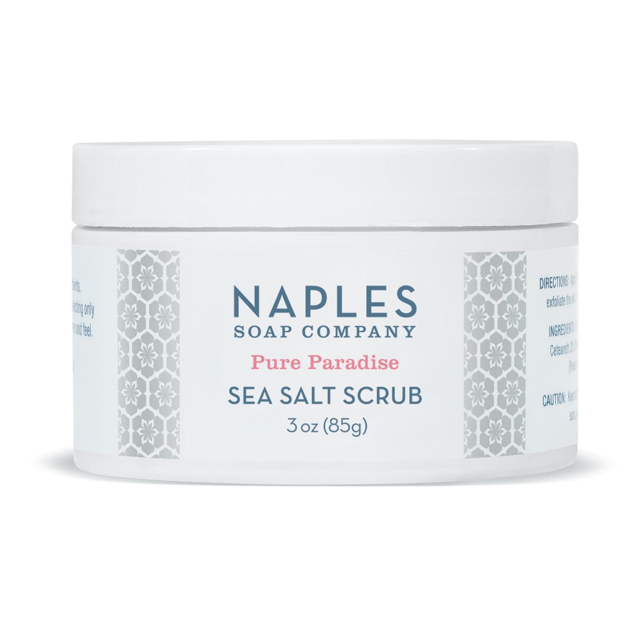 Naples Soap Co. Pure Paradise Sea Salt Scrub 3 oz