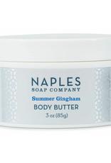 Naples Soap Co. Summer Gingham Body Butter 3 oz
