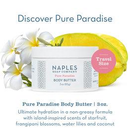 Naples Soap Co. Pure Paradise Body Butter 3 oz