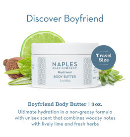 Naples Soap Co. Boyfriend Body Butter 3 oz