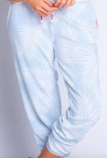 PJ Salvage Tropical Vibes Banded Pant