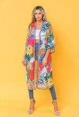 Flying Tomato Kimono/Cover Up