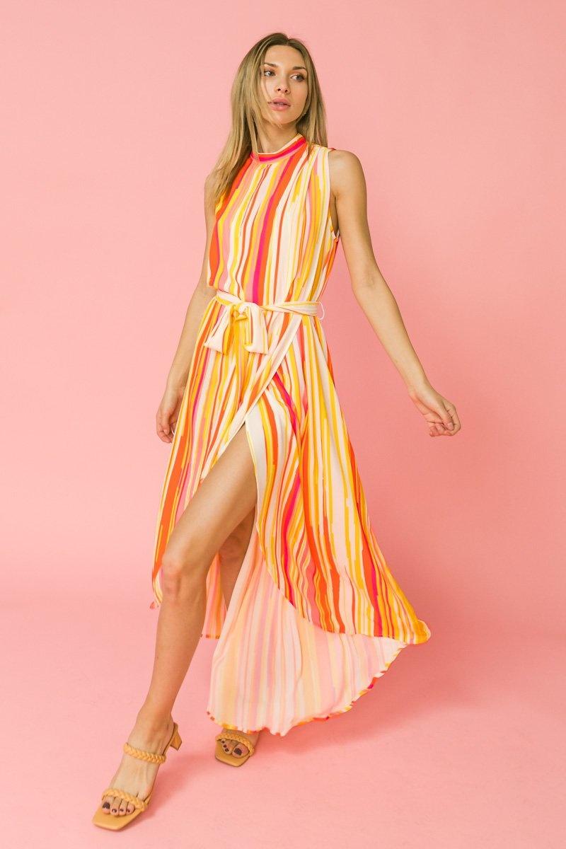 Flying Tomato Sunny Day Dress Orange