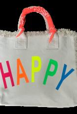 Hipchik Happy Bandana Fringe Tote Bag