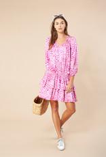 Hale Bob Tara Dress Pink