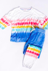 PJ Salvage Rainbow Sunsets Top