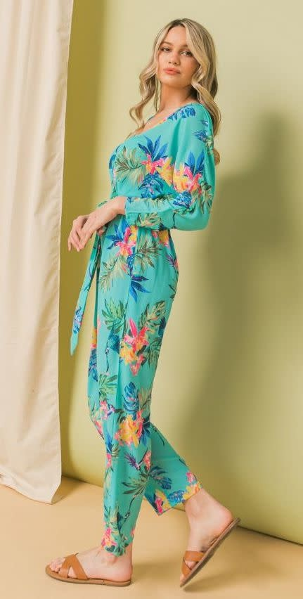 Flying Tomato Floral Jumpsuit
