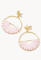 Spartina Pink Lemonade Earrings Gold/Lilac