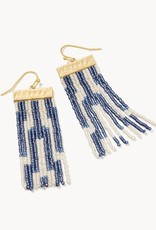 Spartina Bitty Bead Earrings Oyster Alley