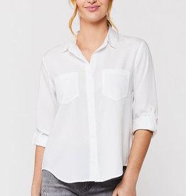 Velvet Heart Riley Optic White Button-Up Shirt