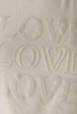 Words Count Alexa Love Tee White