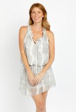 Sofia Imania Dress White Grey