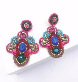 Treasure Jewels Fanny Earring