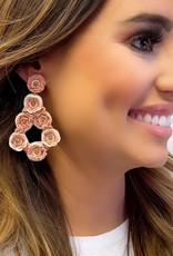 Treasure Jewels Garden Rose Earring