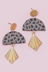 Michelle McDowell Kendall Speckled Earring