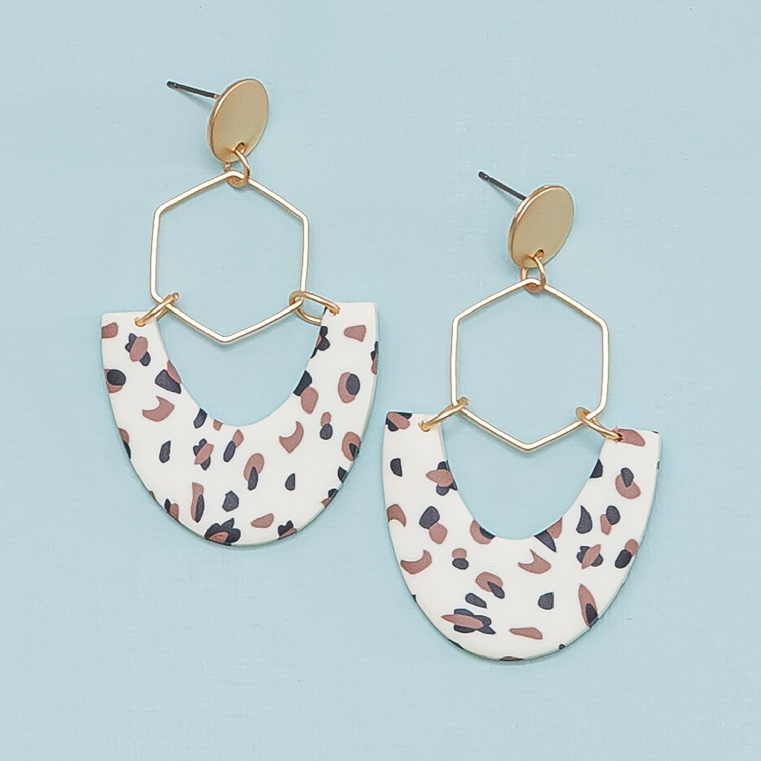 Michelle McDowell Shawn Speckled Earring