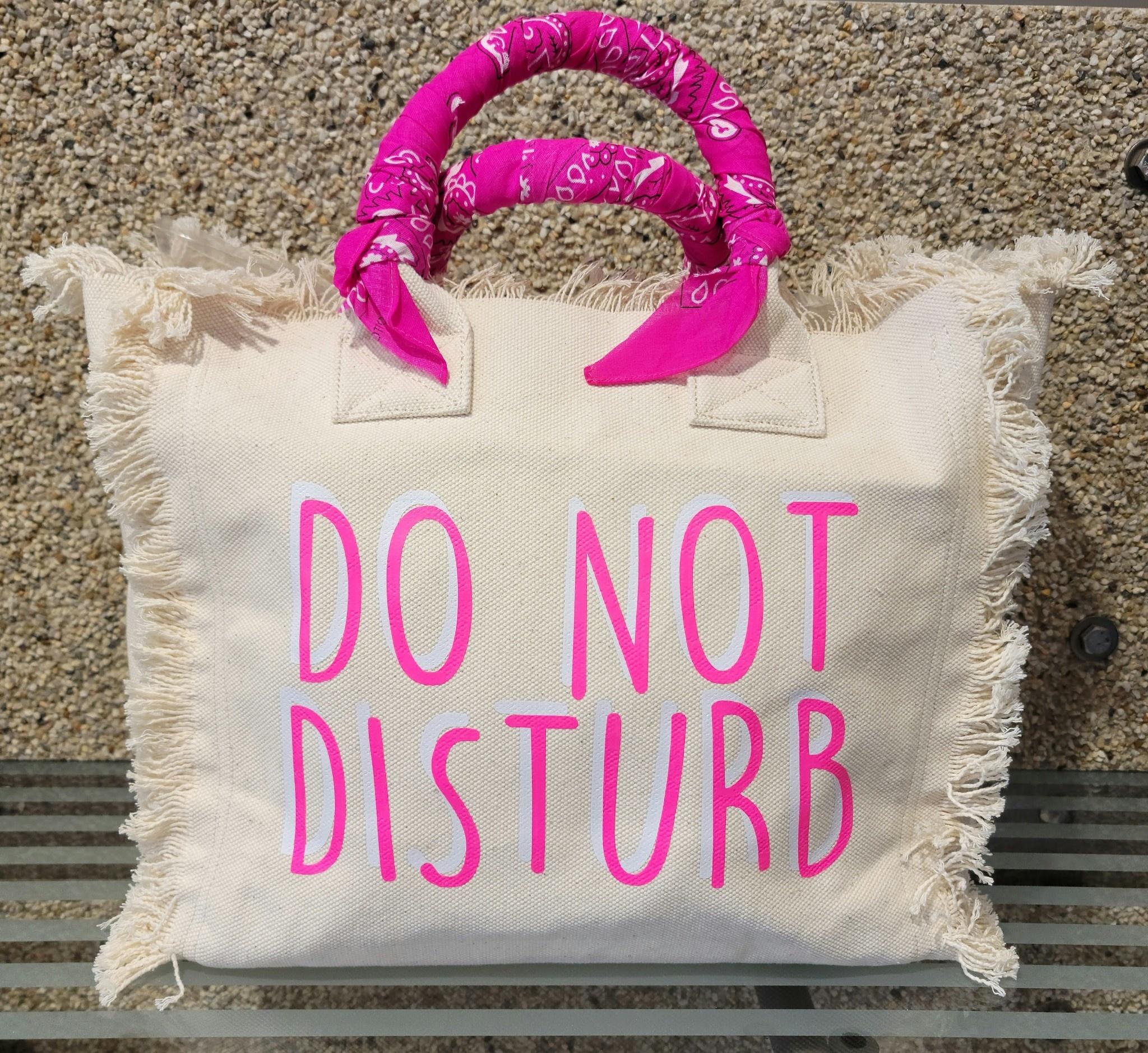 Hipchik Do Not Disturb Bandana Fringe Tote