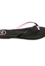 Solei Sea Black Pink Flip Flop