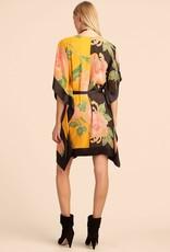Trina Turk Love Dress Floating Chrysanthemum