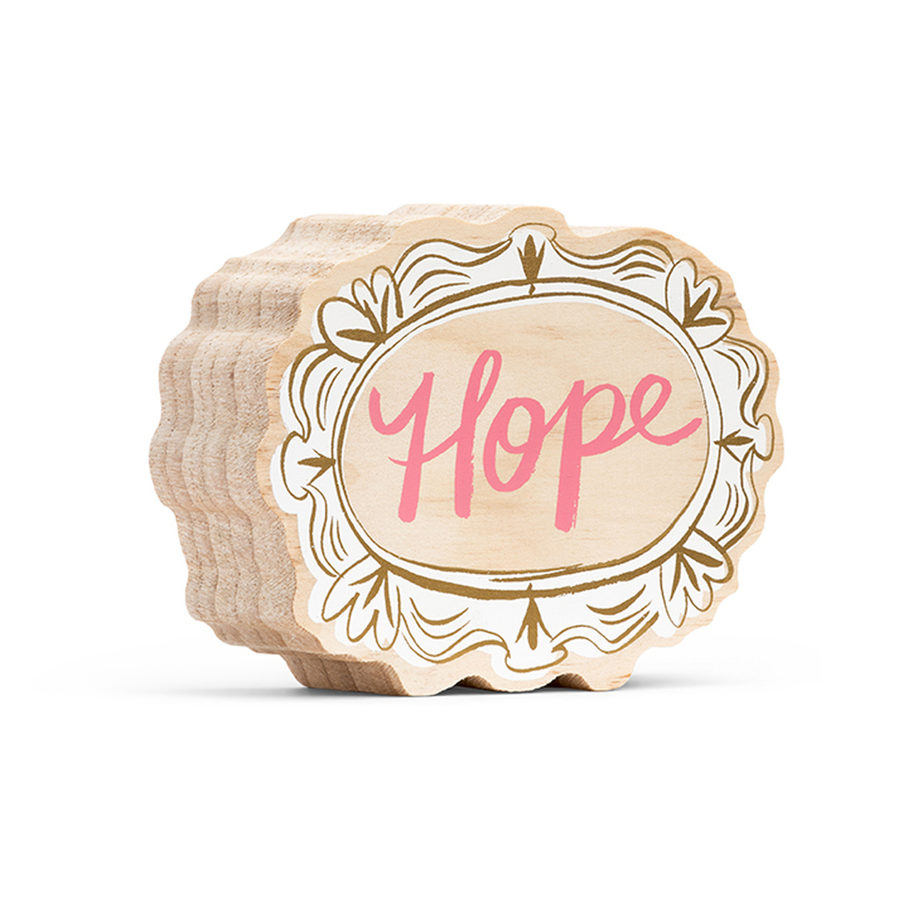 Here & There Inspiring Art Printed on Wood