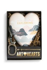 Art Hearts Never Stop Exploring