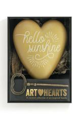 Art Hearts Hello Sunshine
