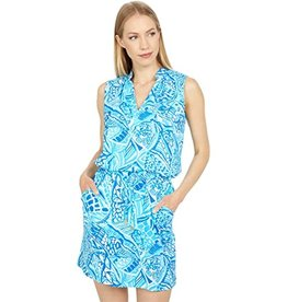 Helen Jon Sanibel Dress Blue Grotto