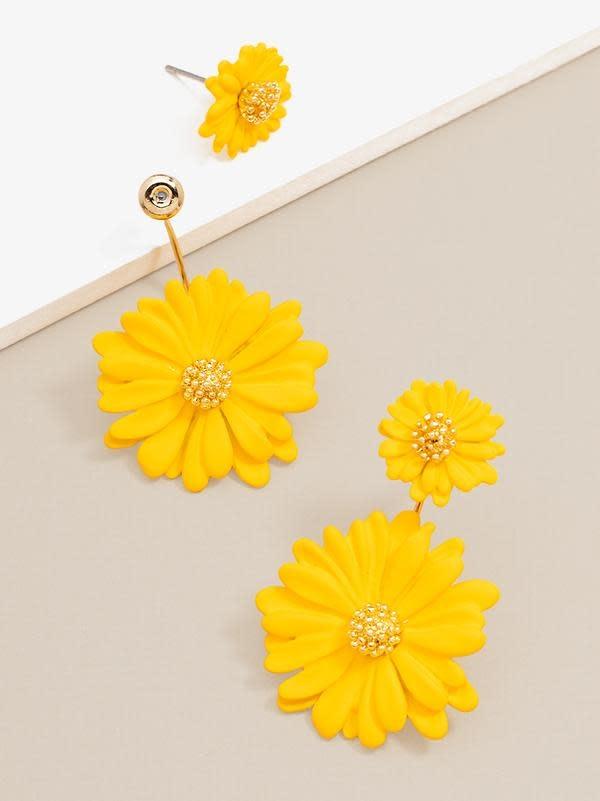Jewelry Ida 2 Piece Flower Earring