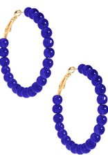 Jewelry Layla Beaded Hoop Earring