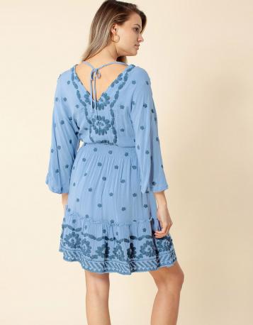 Hale Bob June Dress Blue